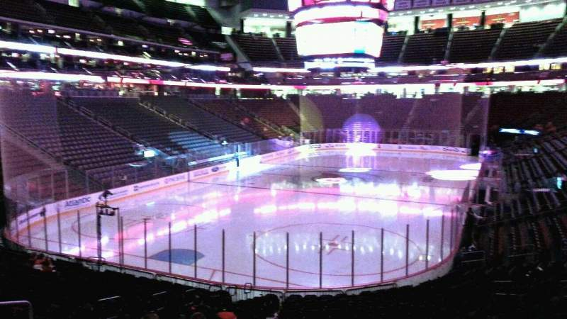 Seating view for Prudential Center Section 4 Row 19 Seat 18