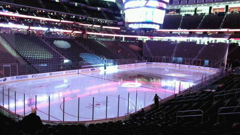 Seating view for Prudential Center Section 5 Row 19 Seat 22