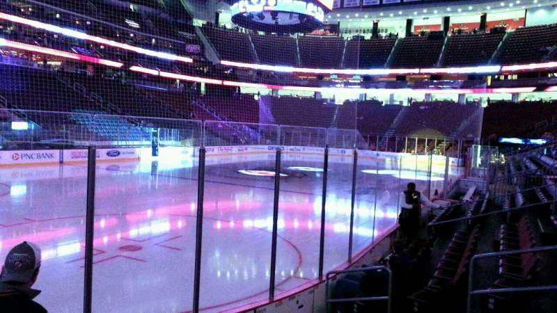 Seating view for Prudential Center Section 5 Row 6 Seat 8