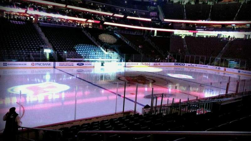 Seating view for Prudential Center Section 6 Row 10 Seat 1