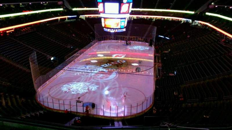 Seating view for Prudential Center Section 104 Row 10 Seat 5