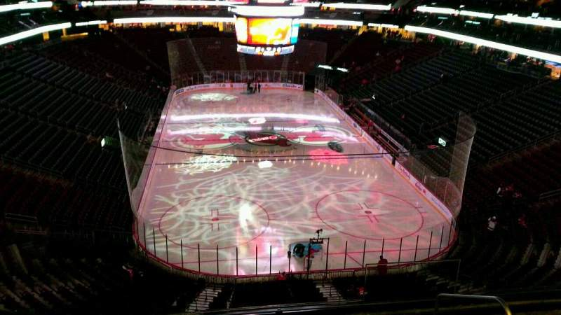 Seating view for Prudential Center Section 102 Row 6 Seat 4