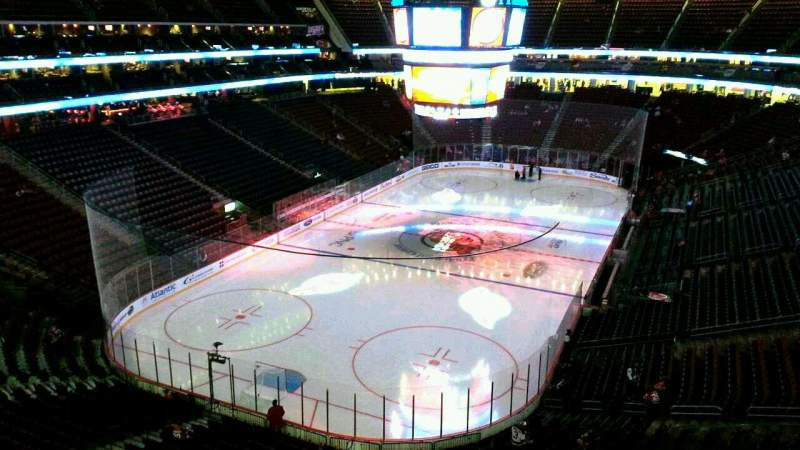 Seating view for Prudential Center Section 105 Row 5 Seat 5