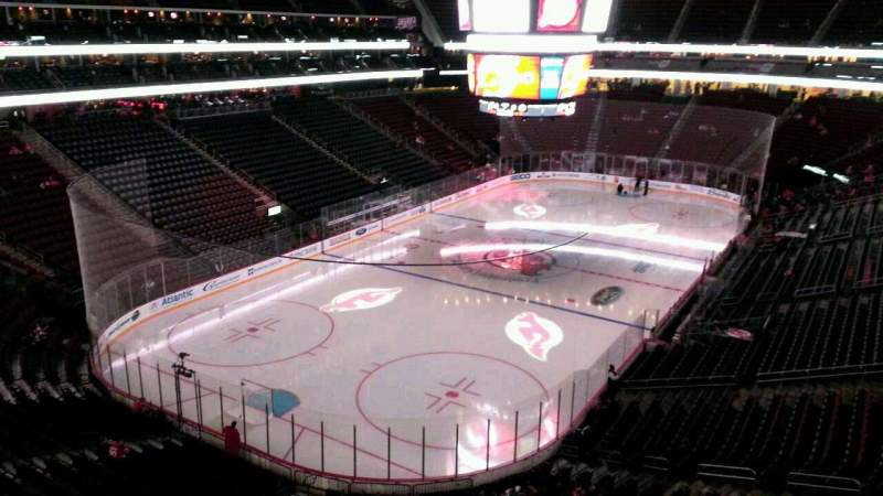 Seating view for Prudential Center Section 106 Row 3 Seat 10