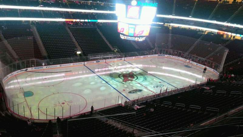 Seating view for Prudential Center Section 108 Row 4 Seat 1