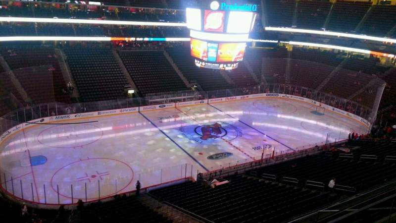 Seating view for Prudential Center Section 109 Row 3 Seat 16