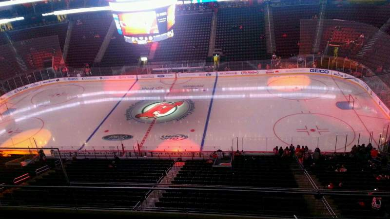 Seating view for Prudential Center Section 113 Row 4 Seat 15