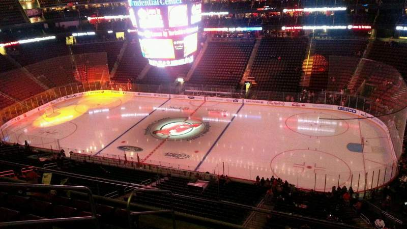 Seating view for Prudential Center Section 114 Row 6 Seat 18