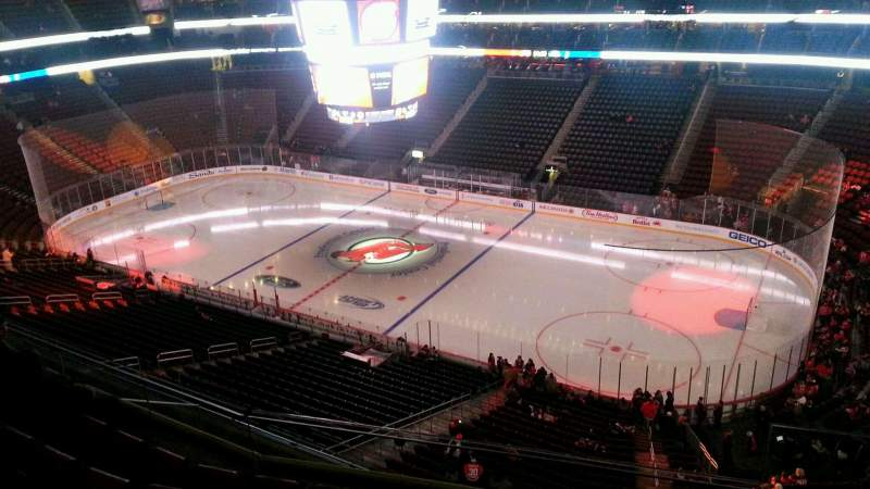 Seating view for Prudential Center Section 114 Row 16 Seat 2