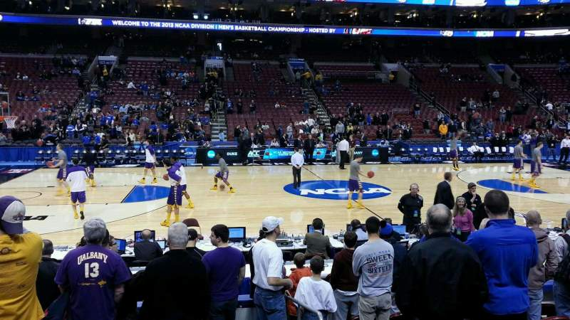 Seating view for Wells Fargo Center