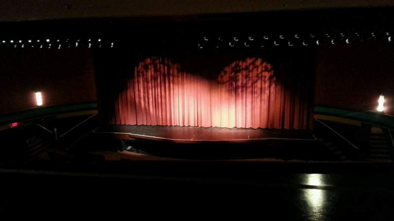 Seating view for Landis Theater Section mezzanine Row aa Seat 101