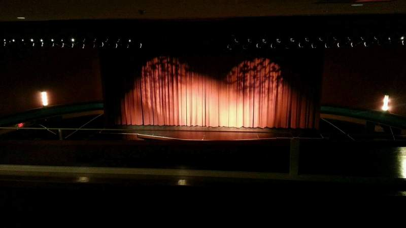 Seating view for Landis Theater Section mezzanine Row aa Seat 106