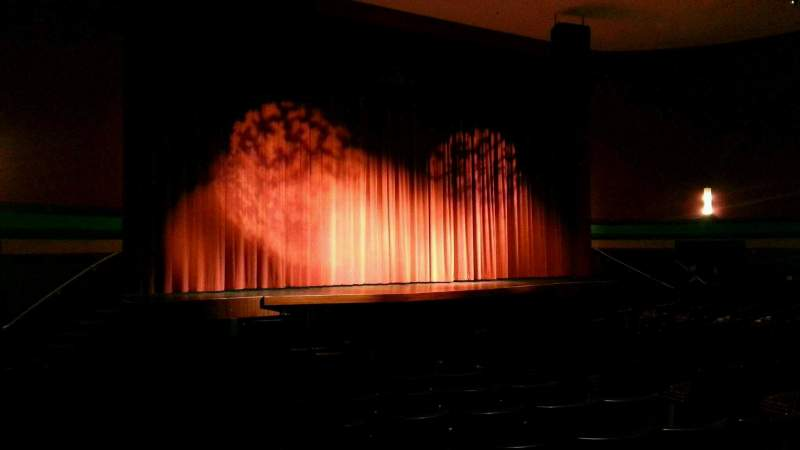 Seating view for Landis Theater Section orchestra left Row p Seat 17