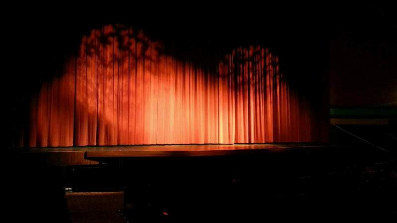 Seating view for Landis Theater Section orchestra left Row k Seat 1