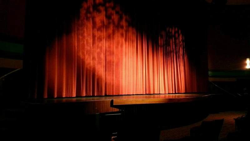 Seating view for Landis Theater Section orchestra left Row f Seat 17