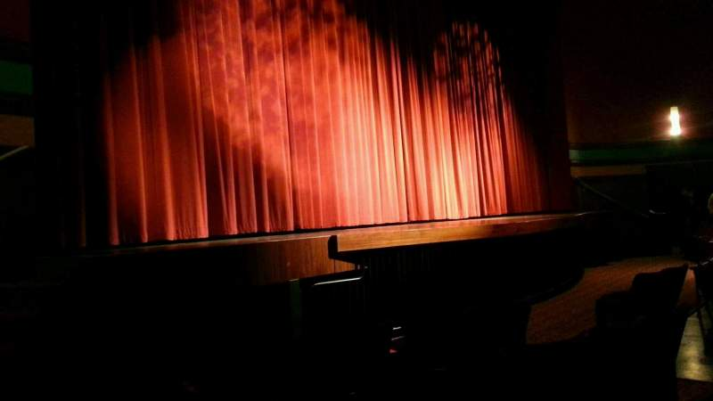 Seating view for Landis Theater Section orchestra left Row e Seat 17