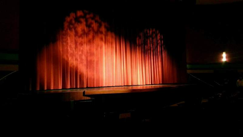 Seating view for Landis Theater Section orchestra left Row j Seat 17