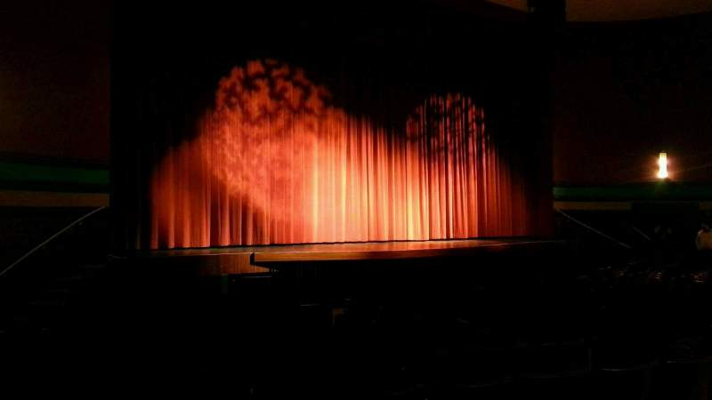 Seating view for Landis Theater Section orchestra left Row m Seat 17