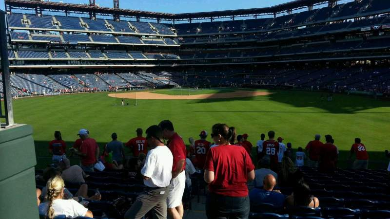 Frank Bank Wallpapers Citizens Bank Park section row seat Philadelphia Phillies