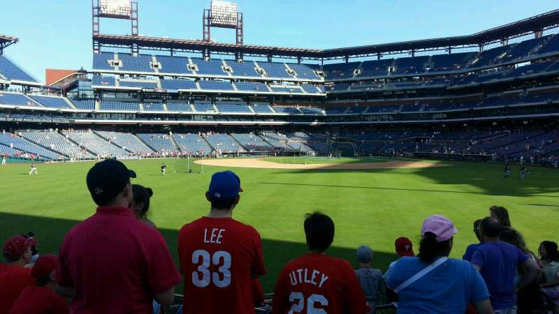 Seating view for Citizens Bank Park Section 146 Row 7 Seat 7