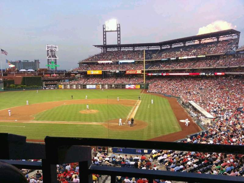 Seating view for Citizens Bank Park Section suite 28 Row 1