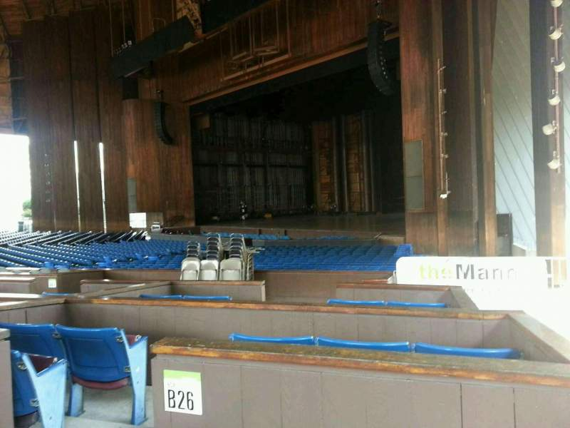 Seating view for The Mann Section orchestra b Row b Seat 70