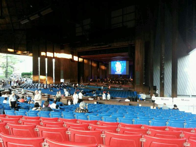 Seating view for The Mann Section orchestra c Row f Seat 76