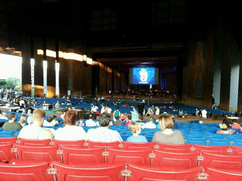 Seating view for The Mann Section orchestra c Row e Seat 22