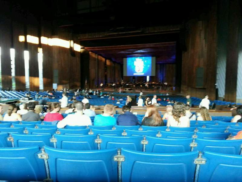 Seating view for The Mann Section orchestra b Row m Seat 28