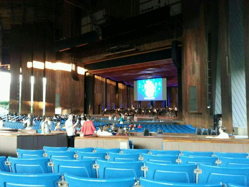 Seating view for The Mann Section orchestra b Row f Seat 24