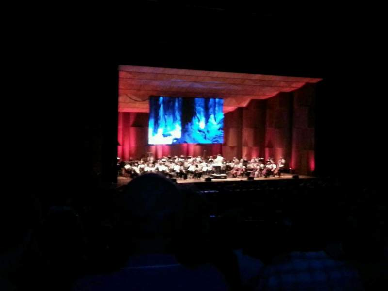 Seating view for The Mann Section orchestra c Row a Seat 43