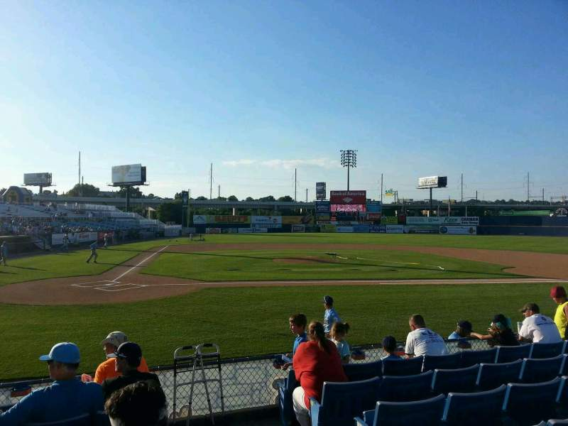 Seating view for Frawley Stadium Section 11 Row 7 Seat 1