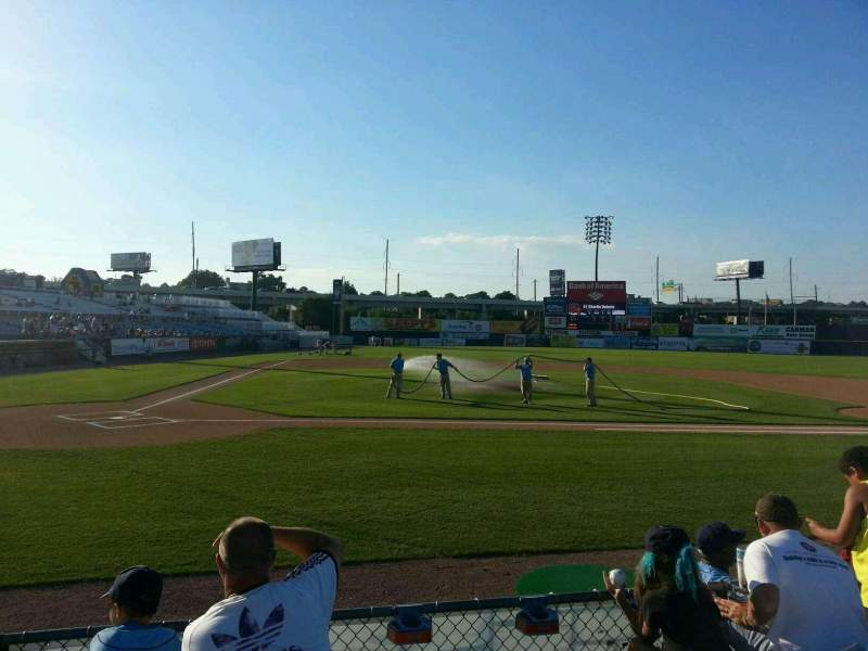 Seating view for Frawley Stadium Section 10 Row 4 Seat 6