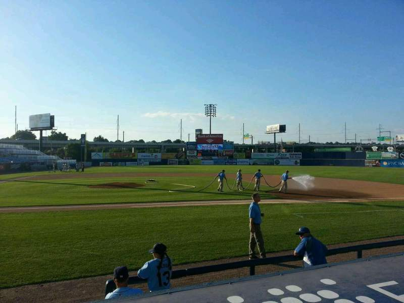 Seating view for Frawley Stadium Section 9 Row 2 Seat 8