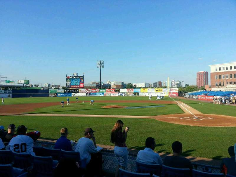 Seating view for Frawley Stadium Section 18 Row 6 Seat 10