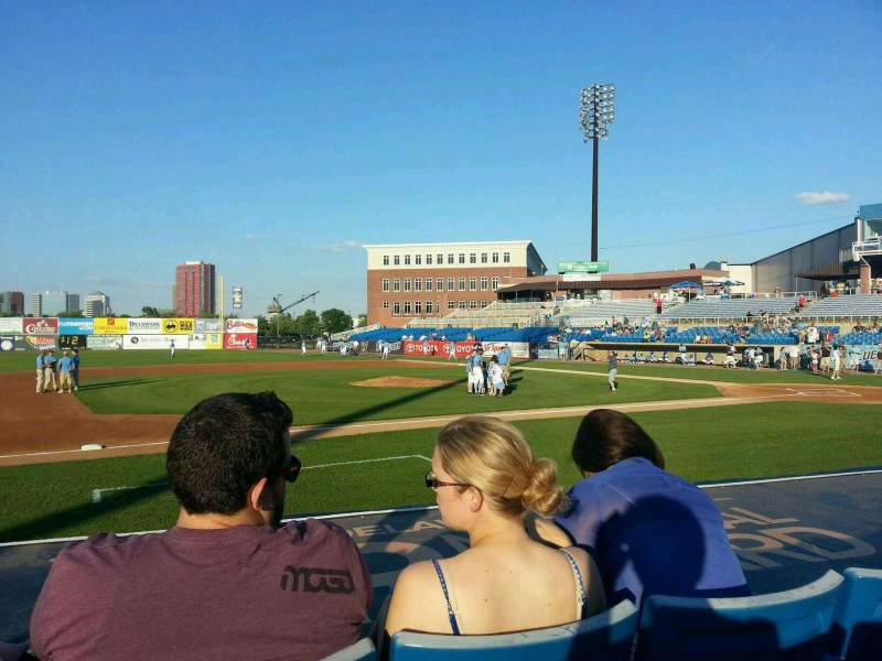 Seating view for Frawley Stadium Section 21 Row 3 Seat 7