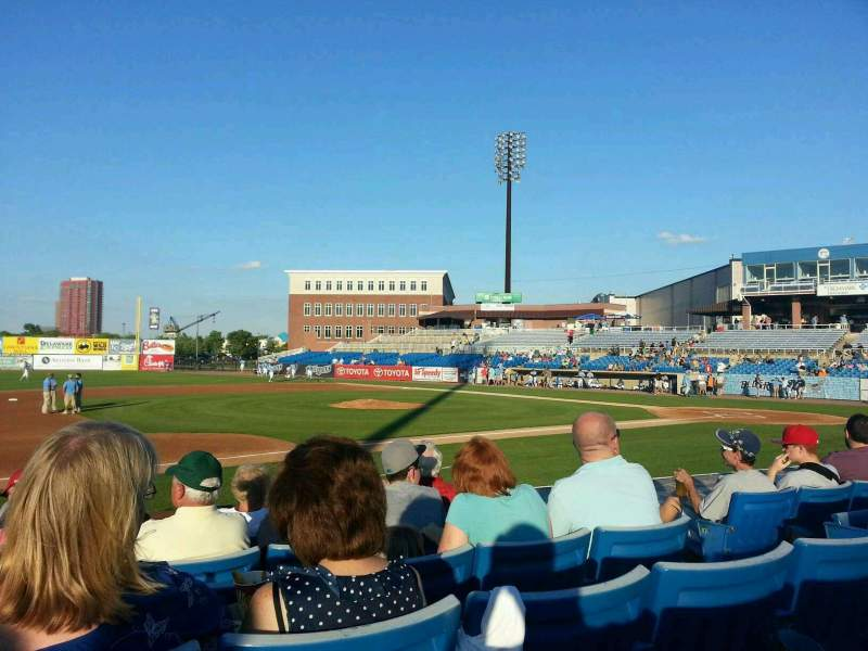 Seating view for Frawley Stadium Section 22 Row 7 Seat 5