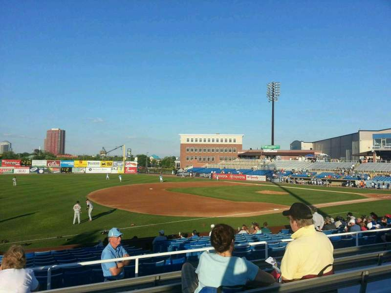 Seating view for Frawley Stadium Section o Row 6 Seat 22
