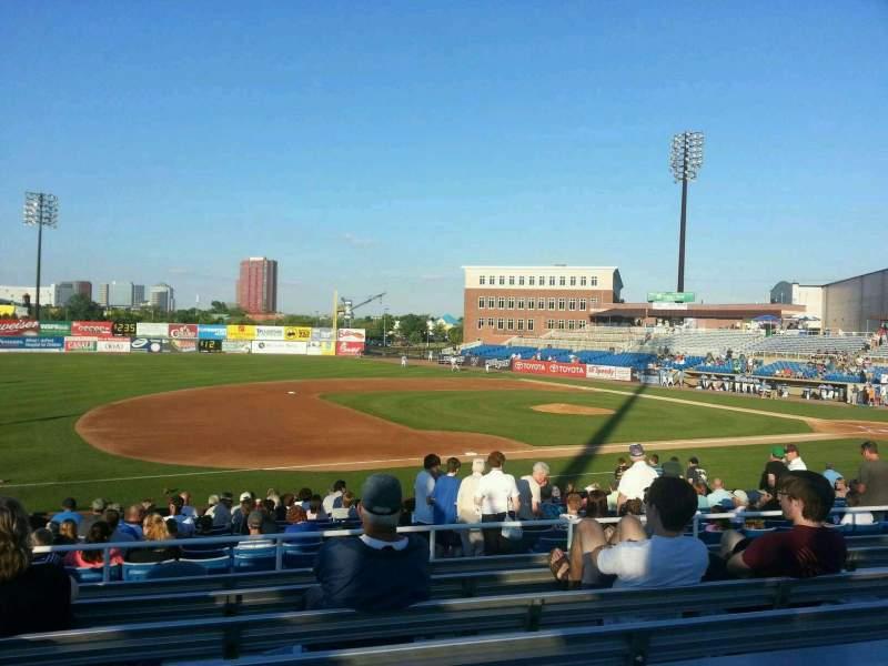Frawley Stadium, section: n, row: 7, seat: 20