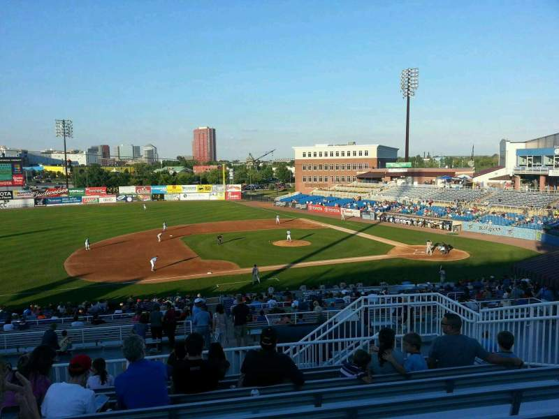Seating view for Frawley Stadium Section ga