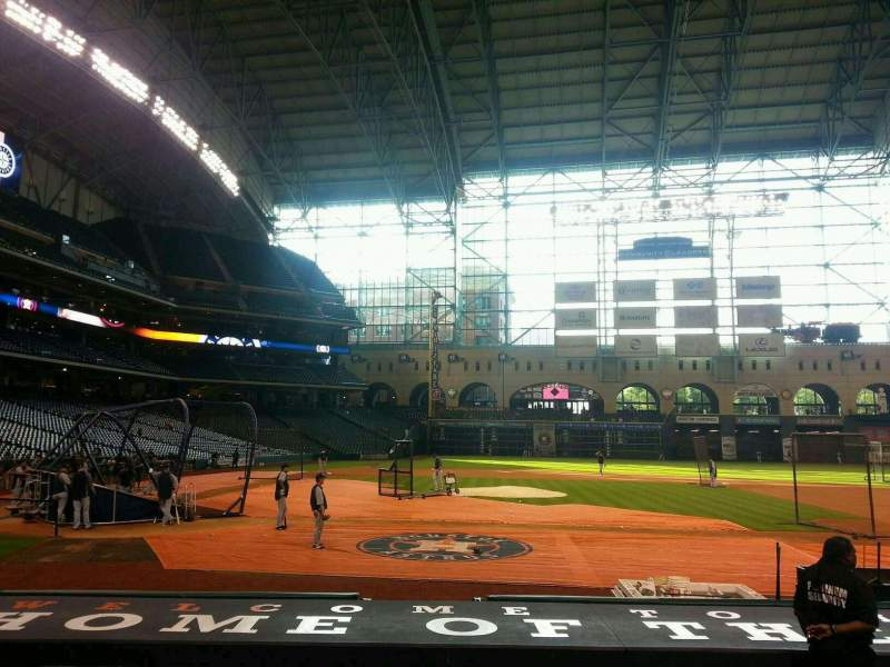 Seating view for Minute Maid Park Section 124 Row 12 Seat 11
