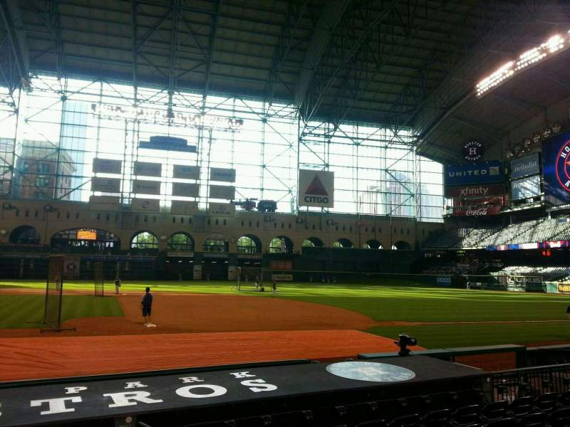 Seating view for Minute Maid Park Section 125 Row 11 Seat 16
