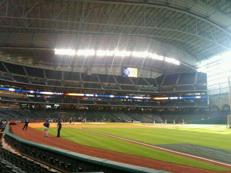 Seating view for Minute Maid Park Section 132 Row 5 Seat 5