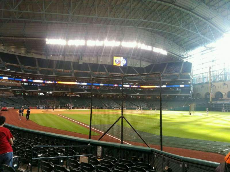 Seating view for Minute Maid Park Section 133 Row 8 Seat 8