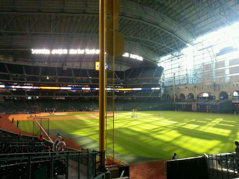 Seating view for Minute Maid Park Section 150 Row 15 Seat 5