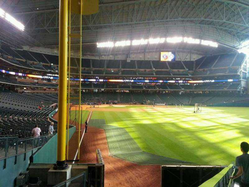 Seating view for Minute Maid Park Section 151 Row 13 Seat 10