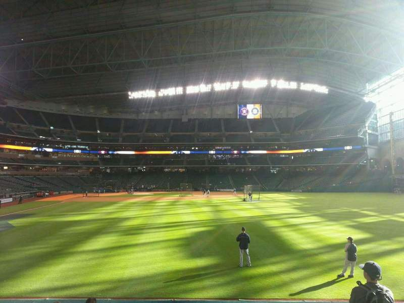 Seating view for Minute Maid Park Section 153 Row 8 Seat 8