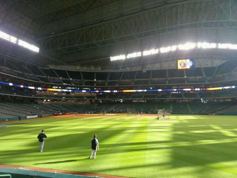 Seating view for Minute Maid Park Section 154 Row 6 Seat 10