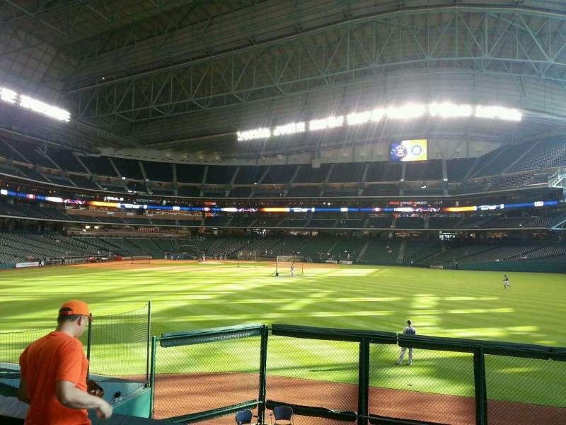 Seating view for Minute Maid Park Section 155 Row 11 Seat 15