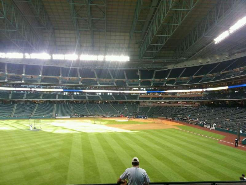 Seating view for Minute Maid Park Section 101 Row 7 Seat 8